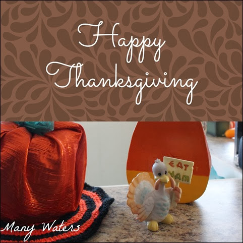 Many Waters Happy Thanksgiving