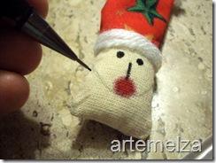 Шить - лицо Санта-Клаус-36