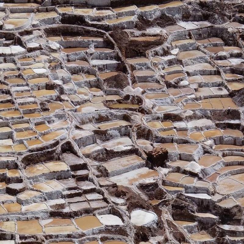 Pre-Inca Salt Pools at Maras, Peru