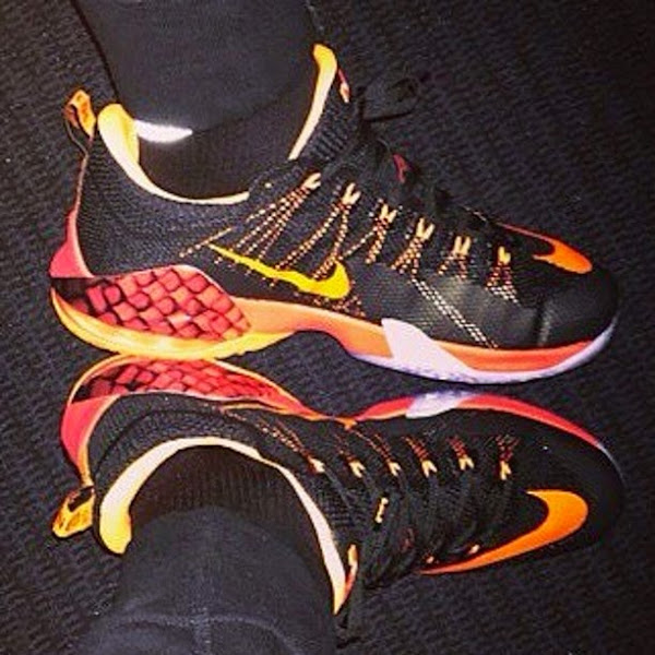 King James Shows Off Brand New Nike LeBron 12 Low PostGame