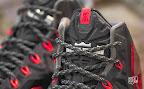 nike lebron 11 gr black red 10 03 New Photos // Nike LeBron XI Miami Heat (616175 001)