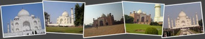 Agra Taj Mahal anzeigen