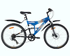 Blue Urban Trail Bike - Urban Trail - High Performance Bikes. Your one stop to seek adventure.