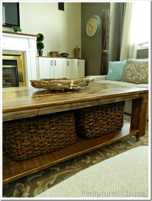 rustic coffee table12