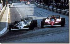 Jones supera Villeneuve a Monaco nel 1981