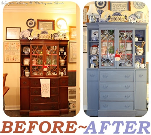 Bargain Hunting with Laurie. I painted the cabinet ...