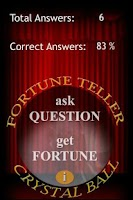 Screenshot of Fortune Teller Crystal Ball