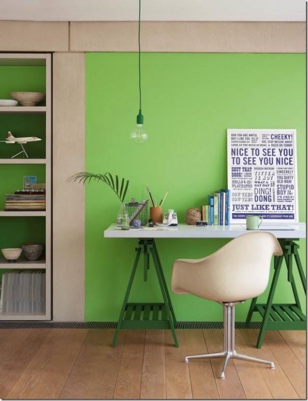 Uso del colore verde case e interni - Colori per casa interni ...