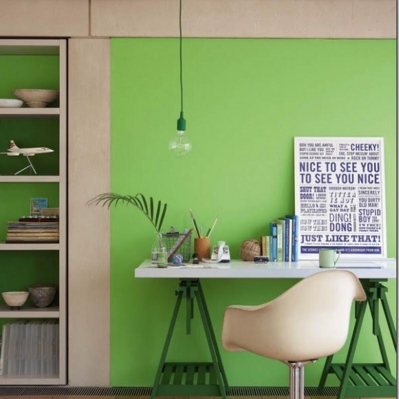 uso del colore] Verde smeraldo - Case e Interni