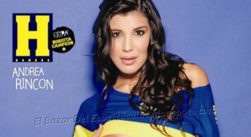 Andrea rincon revista maxim mexico diciembre 2011 revista for Revistas argentinas de farandula