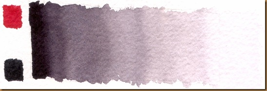 Alizarin crimson gray mix