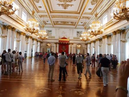 Sala Tronului Tarilor Rusi - Ermitaj