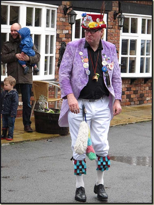 Morris Dancer on Easter Monday
