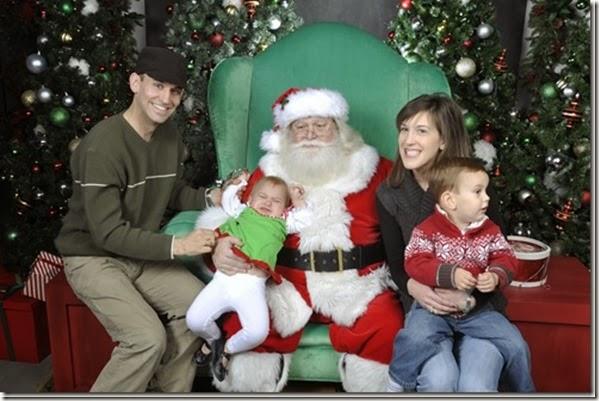 Santa 2011 - Yankee Candle - Williamsburg, VA