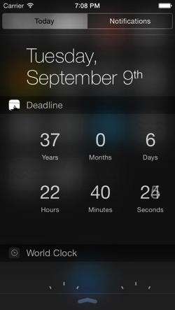Deadline HealthKit
