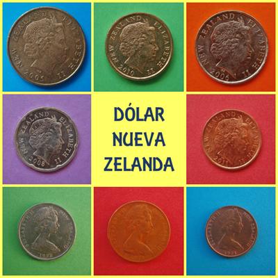 Dolar Nueva Zelanda Reina Isabel