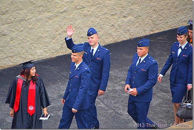 Servicemen LU commencement