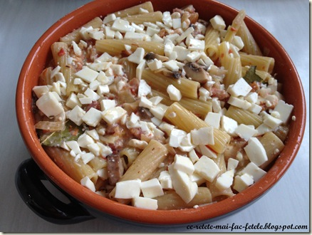 Paste gratinate - coacere