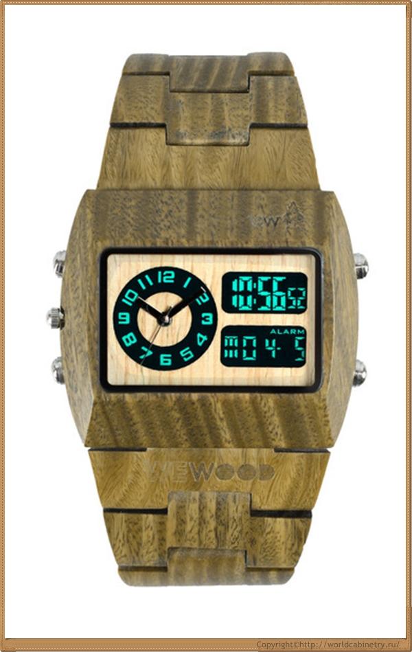 Деревянные часы WeWOOD