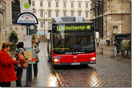 Autocarro em Viena