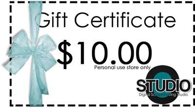 Digital Scrapbooking Studio - Gift Certificate