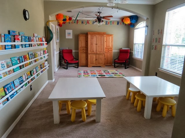 Style with Cents}: Preschool - Playroom - Classroom Tour