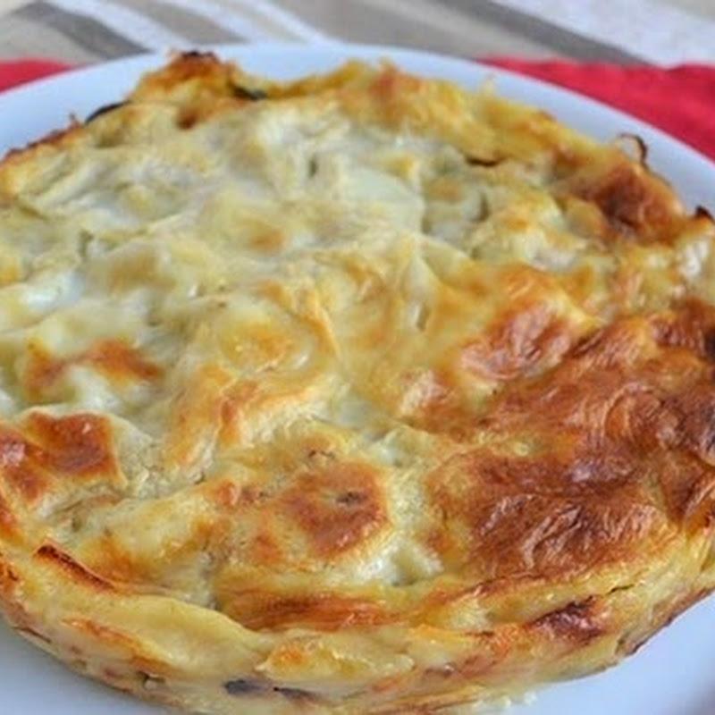 Λαζάνια με λαχανικά στο φούρνο