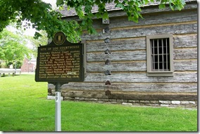 Site of Log Courthouse Marker 49 in Danville KY
