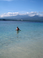 Teds last dip on Gili Air