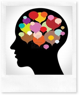 12799251-silhouette-with-thought-bubbles-abstract-vector-illustration