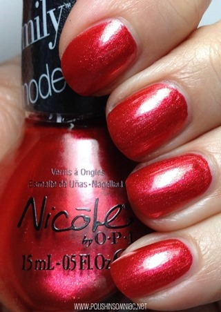 Nicole by OPI Who Red My Journal