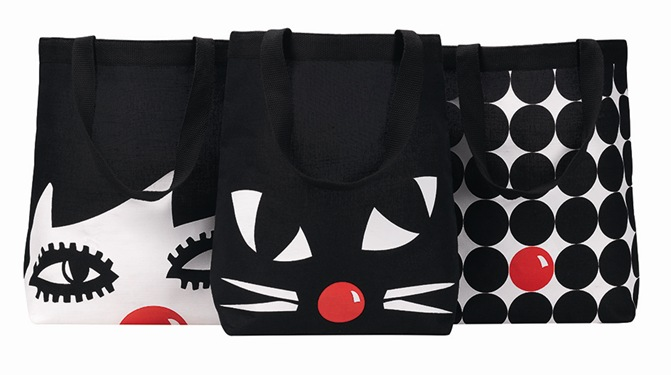 Lulu Guinness Red Nose Bag Group Shot_V3PR