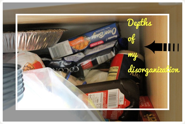 kitchen pantry disorganization