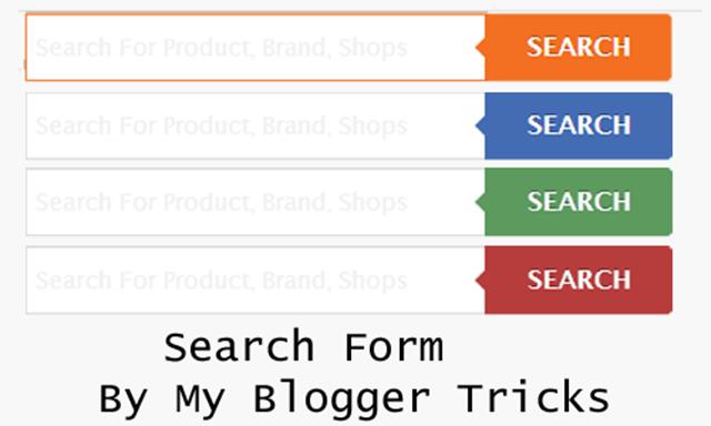 Multi COlor Search Forms
