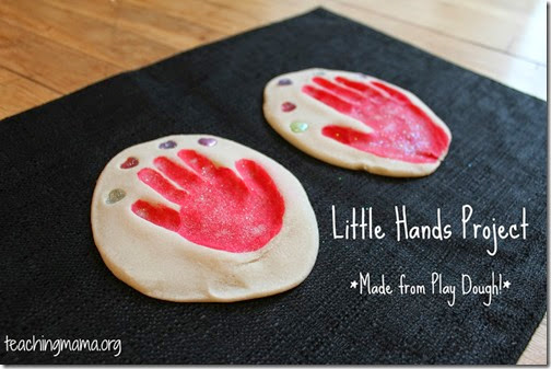 Playdough Mother's Day Craft from Teaching Mama