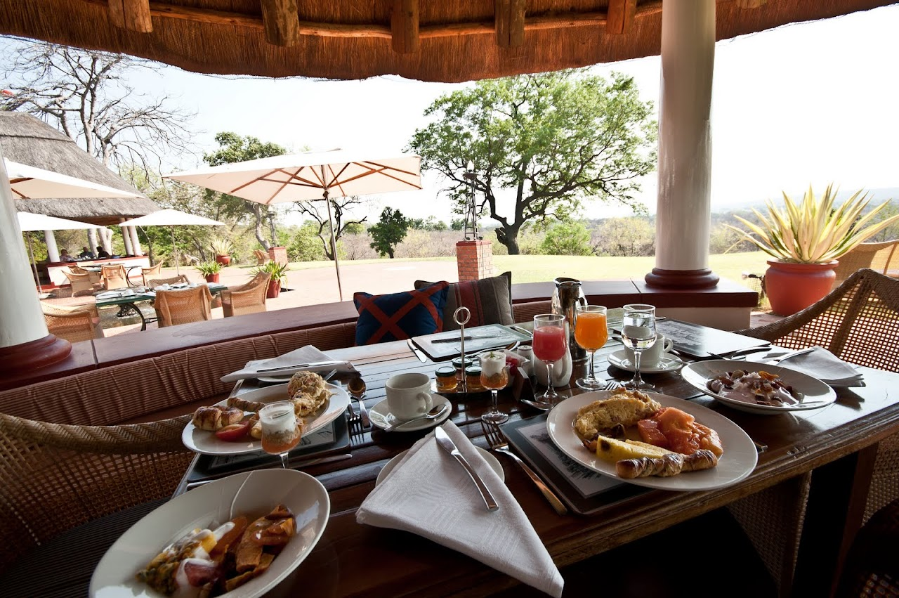 Breakfast at the Royal Livingstone