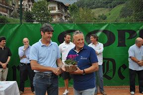 GianFranco Poletti l'amico giornalista sempre vicino al tennis Bovegno