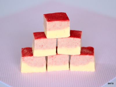 White Choc Raspberry Fudge 1