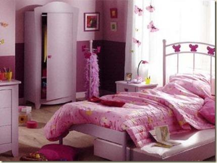 decoración de dormitorios juveniles femeninos5