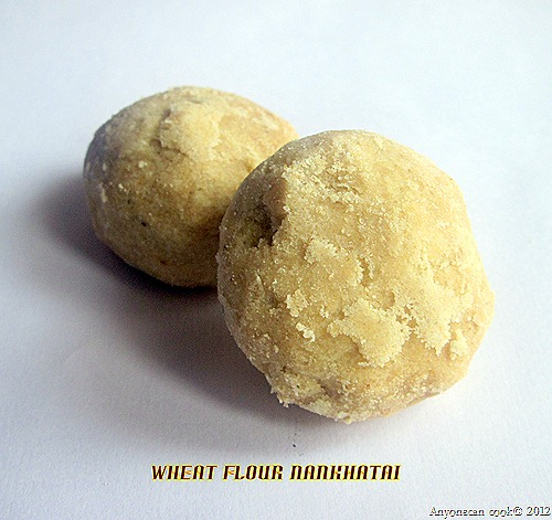 wheat flour nankhatai