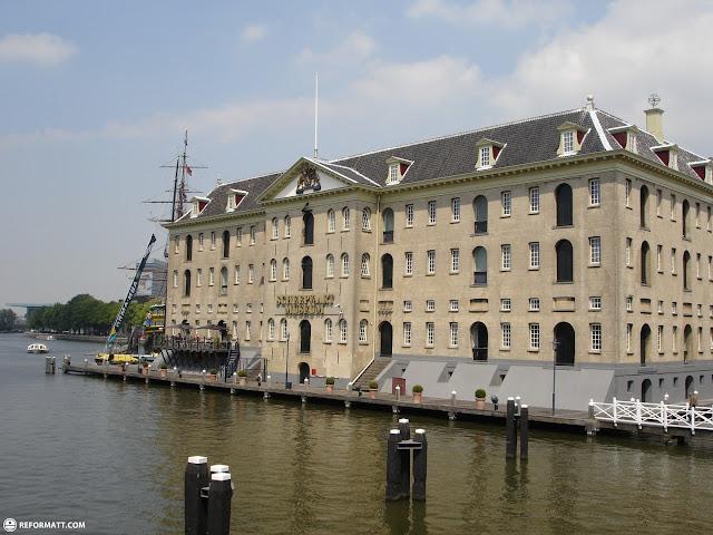 scheepvaart museum in amsterdam in Amsterdam, Noord Holland, Netherlands