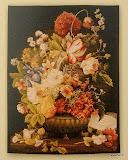 Gobelin 9164f, Bouquet Tulipe fonce, 100x75cm