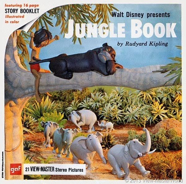 View-Master Jungle Book (B363): Packet Cover