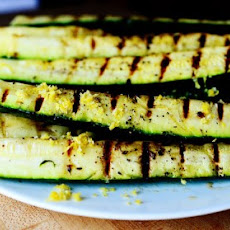 Grilled Zucchini with Yummy Lemon Salt