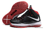 lbj10 fake colorway black white red 1 05 Fake LeBron X