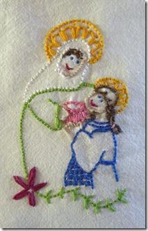 saint anne stitched