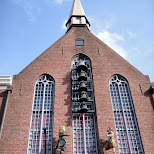 church at huis ten bosch in Sasebo, Nagasaki, Japan