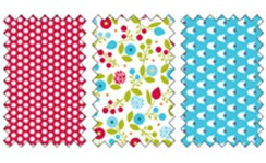 Summer Smooches Designer Fabric