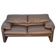 Maralunga 675 two seater sofa