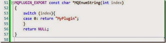 myplugin cpp lines 51 to 58